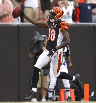 Touchdown durch A.J. Green