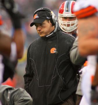 Ex Cleveland Browns Head Coach Eric Mangini