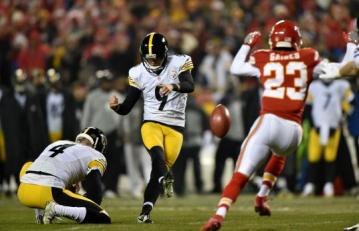 Kicker Chris Boswell #9