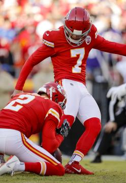 Kicker Harrison Butker lieferte eine Top Performance ab