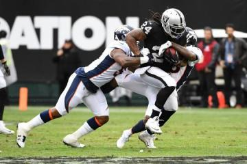 Marshawn Lynch (Oakland Raiders) erzielte einen Touchdown