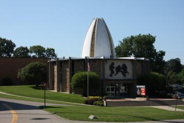 Die Pro Football Hall of Fame in Canton / Ohio