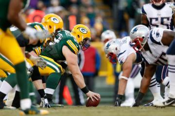 Center Corey Linsley bleibt in Green Bay bei den Packers.