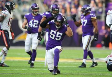 Anthony Barr ist Kapitän der Vikings Defensive