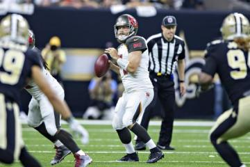 Ryan Fitzpatrick führte Tampa Bay zur Sensation in New Orleans.