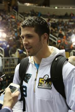 Graham Gano vor Super Bowl 50
