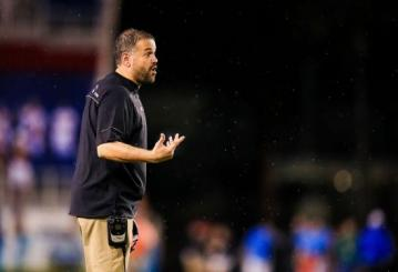 Matt Rhule in 2015 bei den Temple Owls aus der American Athletic Conference (AAC)