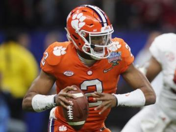 Tigers Quarterback Kelly Bryant erzielte zwei Touchdowns