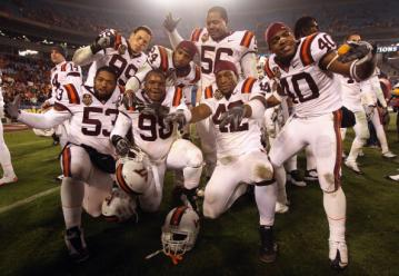 Virginia Tech holte sich den Titel in der ACC