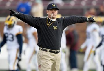 Head Coach Jim Harbaugh (Michigan Wolverines)