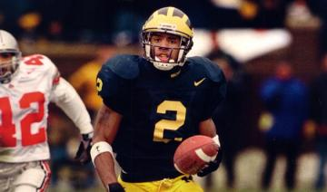 DB Charles Woodson (Michigan) zieht 2018 in die College Football Hall of Fame ein.