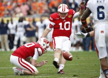 Kicker Rafael Gaglianone #10 (Wisconsin Badgers)