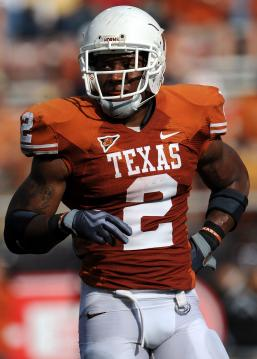 #2 RB Vondrell McGee (Texas Longhorns)