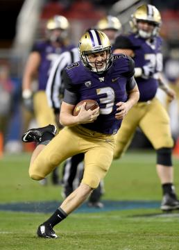 QB Jake Browning #3 (Washington Huskies)