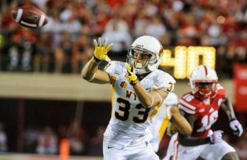 Wide Receiver Dominic Rufran #33 (Wyoming Cowboys).