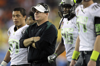 Oregons Head Coach Chip Kelly zog beim diesj�hrigen Recruiting eines der gr��ten Running-Back-Talente an Land.