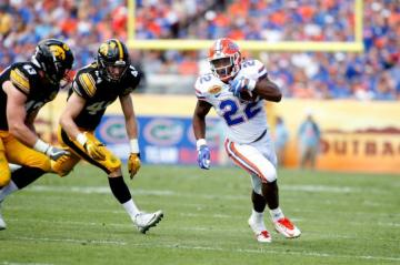 Running Back Lamical Perine #22 (Florida Gators)