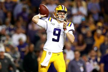 LSU QB Joe Burrow