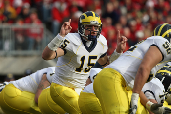 QB Ryan Mallett (hier noch im Dress von Michigan)