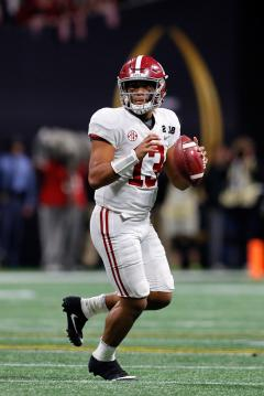 Tua Tagovailoa #13 (Alabama Crimson Tide)