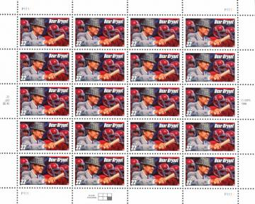 US-Briefmarken-Set mit Bear Bryant