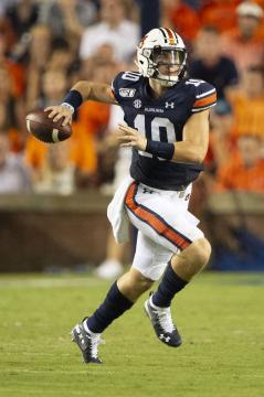 QB Bo Nix (Auburn Tigers) warf gegen South Carolina drei Interceptions.