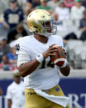 DeShone Kizer #14 (Notre Dame Fighting Irish)