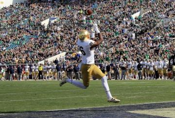 Kaum zu stoppen: Josh Adams #33 (Notre Dame Fighting Irish)