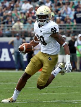 Kevin Stepherson #29 (Notre Dame Fighting Irish)