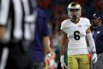 Notre Dames WR Equanimeous St. Brown