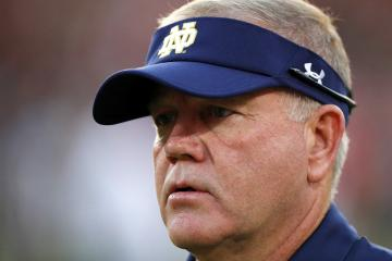 Fighting Irish Head Coach Brian Kelly kennt die Schwächen seines Teams.
