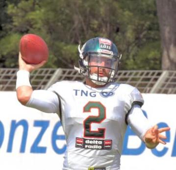# 2 QB Jake Purichia (Kiel Baltic Hurricanes)