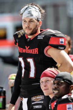 QB #11 Casey Therriault (New Yorker Lions)