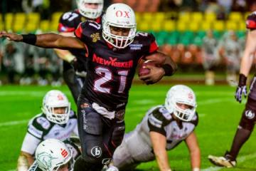 New Yorker Lions Braunschweig RB # 21 David McCants