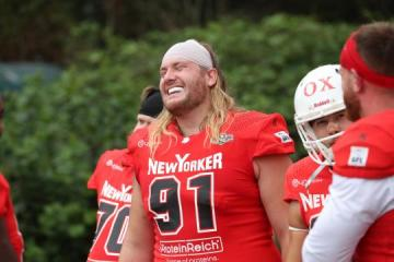 #91 DL Georg Burmeister (New Yorker Lions)