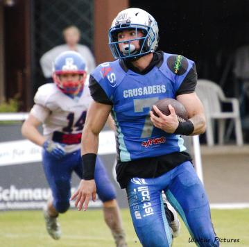 AJ Smith sichert Backfield der Munich Cowboys