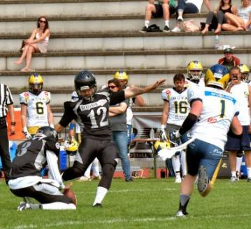 Kicker Phillip Friis Andersen (Berlin Rebels)