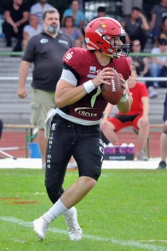 QB Austin David Gahafer (Potsdam Royals)