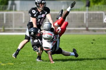 Thaddeus Schirmer (Berlin Rebels) vs. Luka Boateng (Hamburg Huskies)