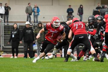 QB Jacob Tucker (Nr. 1, Potsdam Royals)