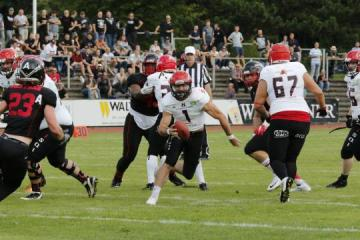QB Jacob Tucker (Potsdam Royals) erzielte drei Touchdowns