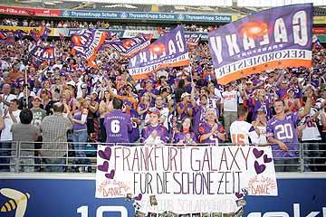 Spielplan Frankfurt Galaxy