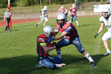 Steffen Labodda (Remscheid Amboss) mit der Interception