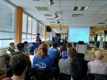 Team-Meeting der Wilddogs