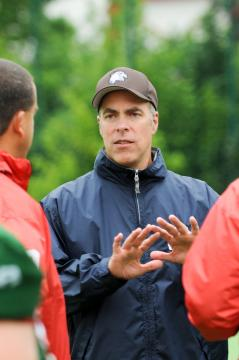 Head Coach Martin Lutzke (Berlin Thunderbirds)