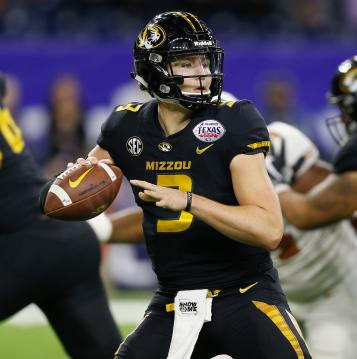 QB Drew Lock #3 (Missouri Tigers)