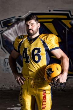 LB Chris Beaulaurier (Elmshorn Fighting Pirates)