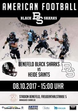 Flyer Benefeld Black Sharks