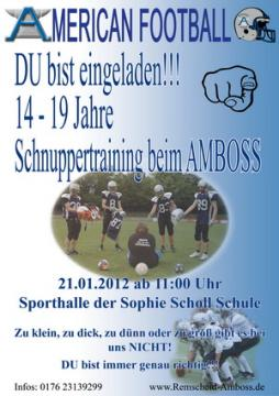 Tryout in Remscheid
