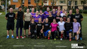 Die Flag Football Nationalmannschaft der Frauen 2014
